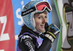 SLALOM GIGANTE DONNE OLIMPIADI SOCHI 2014 Slovena Maze vince Oro. L'italiana Nadia Fanchini è 4^