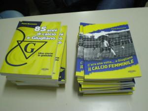 La storia del calcio giuglianese in due libri di Paolo Buonanno