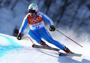 OLIMPIADI SOCHI 2014 SUPERCOMBINATA MASCHILE Azzurro Innerhofer Bronzo. Oro allo svizzero Viletta e argento al croato Kostelic
