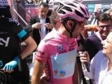 In primo piano l'italiano Vincenzo Nibali , vincitore della Vuelta nel 2010. (Foto: archivio ciclismo Luigi Gallucci)