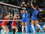 Volley Olimpiadi Rio 2016 Risultati Classifiche Donne torneo 6-8-10-12-14-16-18-20 agosto / Cina campione, Serbia 2^. Bronzo agli Stati Uniti. Questo il podio del 14° campionato olimpico. Albo d'oro dal 1964 ad oggi