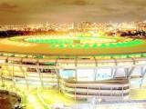 Una veduta esterna dello stadio Maracanà di Rio de Janeiro, nel quale sarà giocata la finale per l'assegnazione della medaglia d'oro nel 26° torneo olimpico di calcio maschile. (Photo: credits to to https://www.facebook.com/rio2016/photos)