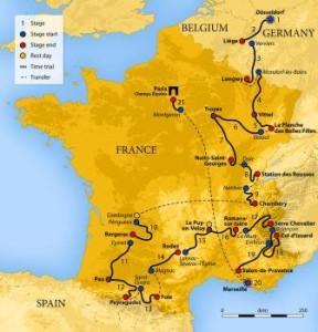 Vincitori Tour de France dal 1903 al 2017