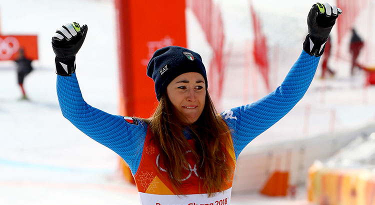 Risultati discesa olimpica donne 21 febbraio 2018 sci alpino for Xxiii giochi olimpici invernali di pyeongchang medaglie per paese
