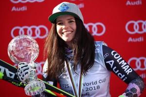 Risultati SuperG Are donne 15 marzo 2018 Sci alpino