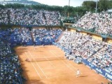 Venerdì 11 maggio 2018: al campo Pietrangeli del Foro Italico di Roma è stato effettuato il sorteggio dei match di 1° turno riguardante il torneo di singolare femminile Italian Open. (Foto: archivio tennis Luigi Gallucci)