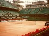 Aggiornamento risultati semifinali e finale torneo di singolare femminile Roland Garros French Open 2018. (Foto campo centrale Philippe Chatrier: archivio tennis Grand Slam Luigi Gallucci)