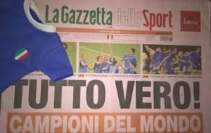 Berlino 9 luglio 2006: Italia-Francia 6-4. Azzurri campioni