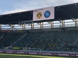 Borussia Dortmund-Napoli 1-3 cronaca 7 agosto 2018