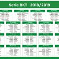Calendario_SerieB 2018 2019