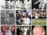 9 agosto 2018: buon 80° compleanno Rod Laver, leggenda vivente del tennis. L'australiano fino ad oggi è stato l'unico giocatore in grado di completare 2 Grand Slam nel singolare maschile (anni 1962 e 1969)