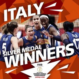 Albo d'oro campionati mondiali volley maschile e femminile