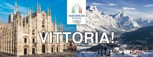 Italia sede di giochi olimpici per la 4^ volta nella storia