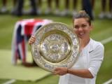 Premiazione torneo di singolare femminile Wimbledon 2019: (Foto Simona Halep: credits to official page FB https://www.facebook.com/simonahalep/)