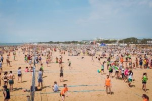 bibione beach full volley