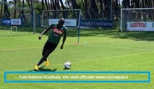 Calcio Napoli, report allenamento 11 maggio 2020