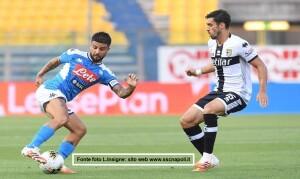 Parma Napoli 0-2 cronaca azioni 20 settembre 2020