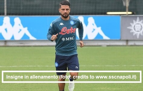 Calcio Napoli / Allenamenti 18-19 ottobre 2020: i report ufficiali. Insigne torna a lavorare in gruppo