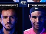Risultati Atp Masters Finals 21-22 novembre 2020 Tennis LIVE Tempo Reale singolare maschile Londra / Medvedev si laurea Maestro. Thiem battuto in 3 set