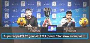 Juventus Napoli 2-0 cronaca azioni 20 gennaio 2021