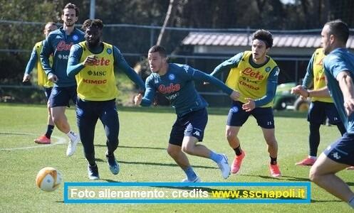Calcio Napoli, allenamento 23 febbraio 2021: il punto sulla squadra e il report odierno da Castel Volturno
