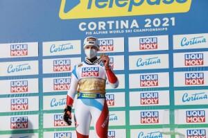 lara gut comunicato stampa media centre Cortina2021
