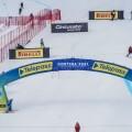Zona traguardo Olympia Tofane Mondiali sci alpino Cortina 2021 (Foto: credits Media Centre @Cortina2021)