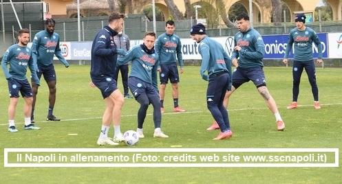 Calcio Napoli, allenamento 16 aprile 2021: report da Castel Volturno, probabile formazione anti-Inter e possibili scenari tattici