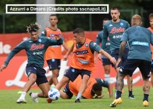 Napoli-Pro Vercelli 1-0 cronaca minuto per minuto 24 luglio 2021