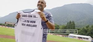Calcio Napoli, allenamento Dimaro 25 luglio 2021