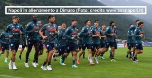 Allenamenti Calcio Napoli 19 luglio 2021