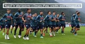 Allenamento Calcio Napoli 21 luglio 2021