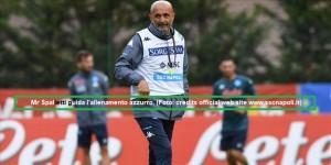 Allenamento Calcio Napoli 28 luglio 2021