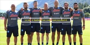 Calcio Napoli 16 luglio 2021 / Seconda giornata di allenamenti