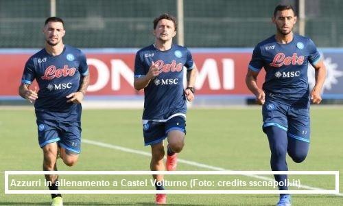 Calcio Napoli: allenamento 21 settembre 2021 e aggiornamenti su Meret, Lobotka e Demme